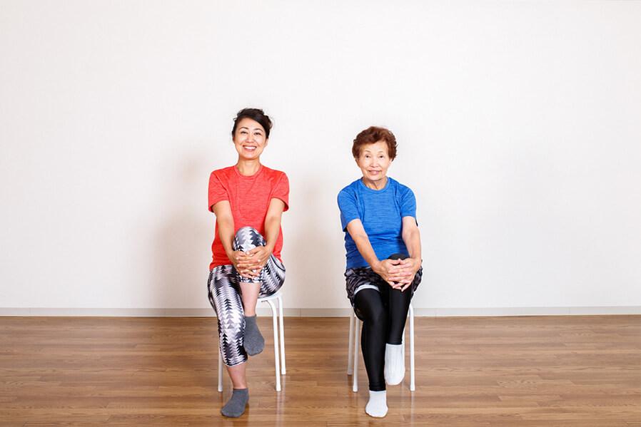 運動はスムーズな膝の曲げ伸ばしに必要不可欠