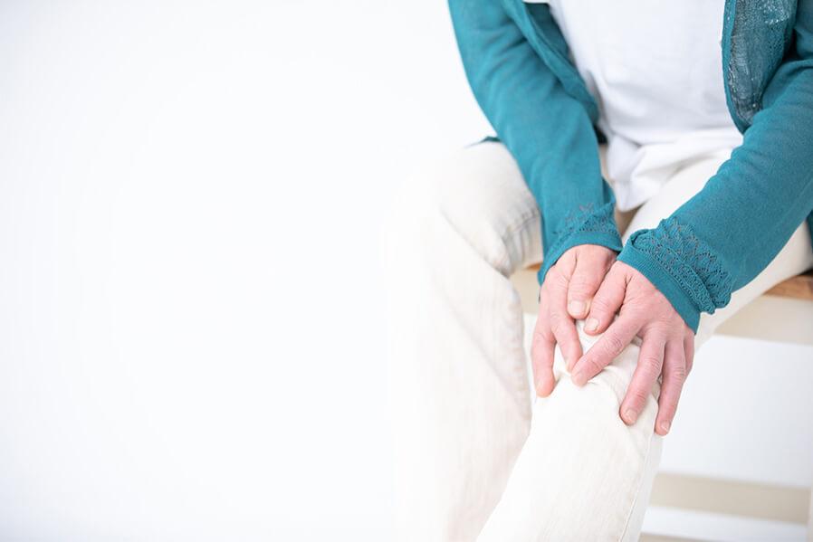 変形性膝関節症の診断には検査が必要