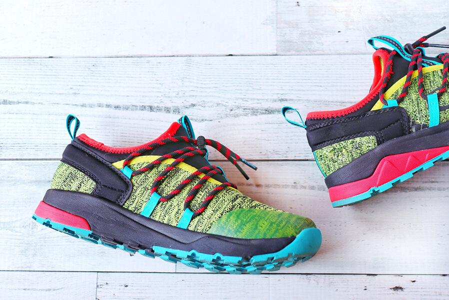 ウォーキングは靴選びも重要