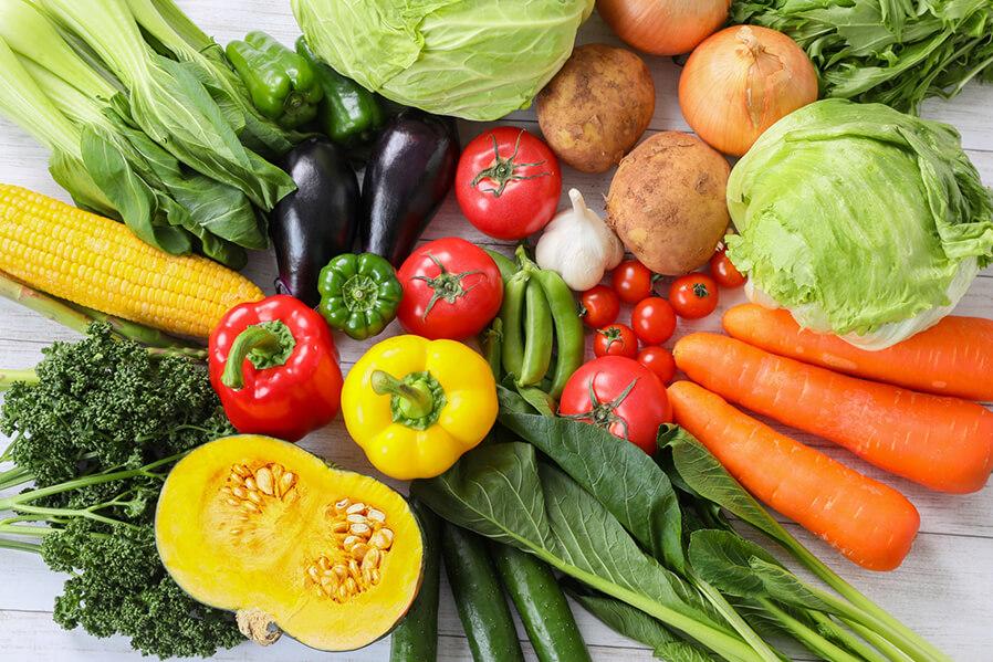 栄養バランスの良い食事を摂ろう